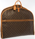 "Luxury Accessories:Accessories, Louis Vuitton Classic Monogram Canvas Garment Bag & Hanger. Very Good to Excellent Condition. 24"" Width x 40"" Height ..."