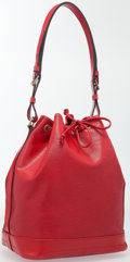 "Luxury Accessories:Accessories, Louis Vuitton Red Epi Leather Noe Bag . Very Good Condition.15"" Width x 13"" Height x 7.5"" Depth. 11.5"" Adjustable Sho..."
