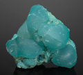 Minerals:Miniature, Smithsonite on Aurichalcite. Kelly Mine, Magdalena, Socorro Co.,New Mexico, USA. ...