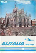 "Movie Posters:Miscellaneous, Alitalia Airlines Lot (1960s). Travel Posters (3) (26.25"" X 38.5""). Miscellaneous.. ... (Total: 3 Items)"
