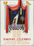 "Movie Posters:Foreign, Famous Love Affairs (Unidex, 1961). French Grande (47"" X 62.75""). Foreign.. ..."