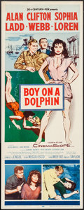 "Movie Posters:Adventure, Boy on a Dolphin (20th Century Fox, 1957). Insert (14"" X 36"").Adventure.. ..."