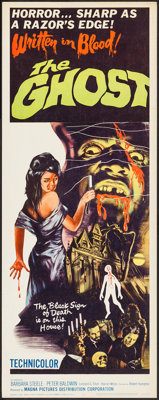"The Ghost (Magna, 1965). Insert (14"" X 36""). Horror"