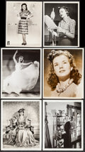 """Movie Posters:Miscellaneous, Deanna Durbin and Others (Universal, 1940). Photos (12) (7.25"""" X9"""", 8"""" X 10""""). Miscellaneous.. ... (Total: 11 Items)"""
