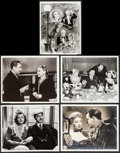 """Movie Posters:Miscellaneous, William Powell and Myrna Loy in I Love You Again & Others Lot (MGM, 1940). Scene and Publicity Photos (9) (8"""" X 10""""), Trimme... (Total: 12 Items)"""