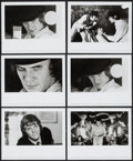 "Movie Posters:Science Fiction, A Clockwork Orange (Warner Brothers, 1972). Photos (9) (8"" X 10"").Science Fiction.. ... (Total: 9 Items)"