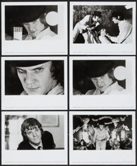 "A Clockwork Orange (Warner Brothers, 1972). Photos (9) (8"" X 10""). Science Fiction. ... (Total: 9 Items)"