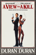 "Movie Posters:James Bond, A View to a Kill (Capitol Records, 1985). Soundtrack Poster (24"" X36""). James Bond.. ..."