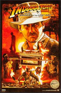 """Raiders of the Lost Ark (Paramount, R-2012). IMAX Exclusive Poster (11"""" X 17""""). Adventure"""