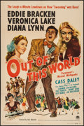 """Movie Posters:Musical, Out of This World (Paramount, 1945). One Sheet (27"""" X 41"""").Musical.. ..."""