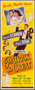 """Movie Posters:Comedy, Patrick the Great (Universal, 1945). Insert (14"""" X 36""""). Comedy....."""