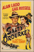 "Movie Posters:Drama, Salty O'Rourke (Paramount, 1945). One Sheet (27"" X 41""). Drama....."