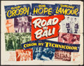 """Movie Posters:Comedy, Road to Bali (Paramount, 1952). Half Sheet (22"""" X 28""""). Comedy....."""
