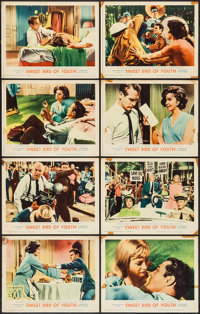 """Sweet Bird Of Youth (MGM, 1962). Lobby Card Set of 8 (11"""" X 14""""). Drama. ... (Total: 8 Items)"""