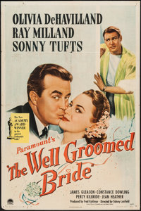 """The Well Groomed Bride (Paramount, 1946). One Sheet (27"""" X 41""""). Comedy"""