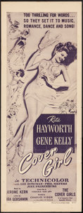 """Movie Posters:Musical, Cover Girl (Columbia, R-1949). Insert (14"""" X 36""""). Musical.. ..."""