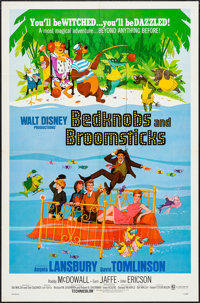 """Bedknobs and Broomsticks (Buena Vista, 1971). One Sheet (27"""" X 41""""). Animation"""
