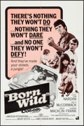 """Movie Posters:Exploitation, The Young Animals & Other Lot (American International, 1968).One Sheets (2) (27"""" X 41""""). Exploitation. Alternate Title: B...(Total: 2 Items)"""