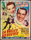 """Movie Posters:Musical, Summer Stock (MGM, 1952). Trimmed Belgian (14"""" X 18.25""""). Musical....."""