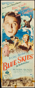 """Movie Posters:Musical, Blue Skies (Paramount, 1946). Insert (14"""" X 36""""). Musical.. ..."""