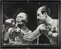 Boxing Collectibles:Autographs, 1963 Rocky Marciano Signed Oversized Photograph....
