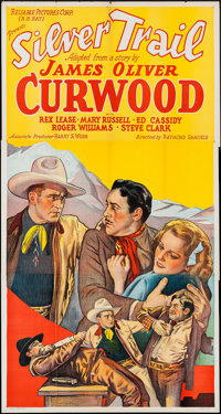 "Silver Trail (Reliable, 1937). Three Sheet (41"" X 77""). Western"