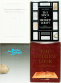 Books:Reference & Bibliography, [Hebrew Reference Books]. Group of Four. Various publishers anddates.... (Total: 4 Items)