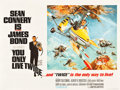 "Movie Posters:James Bond, You Only Live Twice (United Artists, 1967). British Quad (30"" X40"") Style B.. ..."
