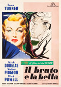 "Movie Posters:Drama, The Bad and the Beautiful (MGM, 1953). Italian 4 - Foglio (55"" X77.5"").. ..."