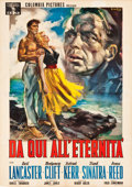 "Movie Posters:Academy Award Winners, From Here to Eternity (Columbia, 1954). Italian 4 - Foglio (55"" X77.75"").. ..."