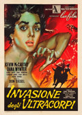"Movie Posters:Science Fiction, Invasion of the Body Snatchers (Lux Films, 1957). Italian 2 -Foglio (39.5"" X 55"").. ..."