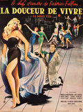 """Movie Posters:Foreign, La Dolce Vita (Consortium Pathe, 1960). Full-Bleed French Grande (46"""" X 62.25"""").. ..."""
