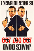 "Movie Posters:James Bond, Dr. No/From Russia with Love Combo (United Artists, R-1965).British Poster (40"" X 60"").. ..."