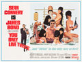 "Movie Posters:James Bond, You Only Live Twice (United Artists, 1967). Subway (45"" X 59"")Style C.. ..."