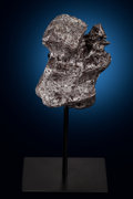 Meteorites:Irons, Campo del Cielo Meteorite with Stand. Iron, coarse octahedrite. Gran Chaco, Argentina. ... (Total: 2 Items)