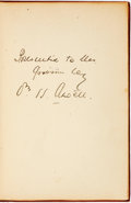 Books:Social Sciences, William H. Atwell. INSCRIBED. Charges to Juries. [Dallas]:[Warlick Printing Co.], [1929]....