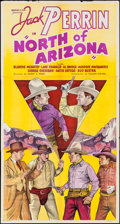 "Movie Posters:Western, North of Arizona (William Steiner, 1935). Three Sheet (41"" X 77""). Western.. ..."
