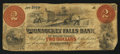 Obsoletes By State:Rhode Island, Woonsocket, RI-Woonsocket Falls Bank $2 Mar. 1, 1858 A5 Altered Note. ...