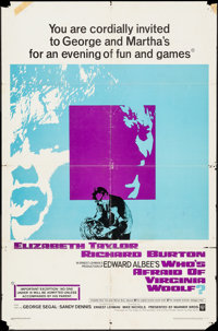 "Who's Afraid of Virginia Woolf? & Others Lot (Warner Brothers, 1966). One Sheets (11) (27"" X 41""). Dra..."