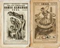 Books:Americana & American History, [Comic Almanac]. The Old American Comic Almanac for 1841 and1842. Boston: S. N. Dickinson, [1840, 1841]...