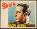 "Movie Posters:Romance, The Sheik (Paramount, R-1938). Lobby Card (11"" X 14""). Romance.. ..."