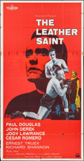 "Movie Posters:Sports, The Leather Saint and Others Lot (Paramount, 1956). Three Sheet (41"" X 81""), & One Sheets (2) (27"" X 41""). Sports.. ... (Total: 3 Items)"
