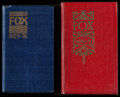 """Movie Posters:Miscellaneous, Fox Exhibitor Date Book (Fox, 1925-1926/1926-1927). Exhibitor DateBooks (2) (Multiple Pages, 4.25"""" X 7.25"""" & 4.75"""" X 7.75"""")...(Total: 2 Items)"""