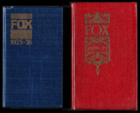 """Fox Exhibitor Date Book (Fox, 1925-1926/1926-1927). Exhibitor Date Books (2) (Multiple Pages, 4.25"""" X 7.25"""" &a..."""