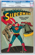 Golden Age (1938-1955):Superhero, Superman #26 (DC, 1944) CGC VG/FN 5.0 Off-white to white pages....
