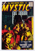 Golden Age (1938-1955):Horror, Mystic #60 (Atlas, 1957) Condition: VG+....