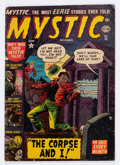 Golden Age (1938-1955):Horror, Mystic #14 (Atlas, 1952) Condition: GD/VG....