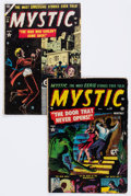 Golden Age (1938-1955):Horror, Mystic #20 and 34 Group (Atlas, 1953-54) Condition: Average GD+....(Total: 2 Comic Books)