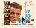 "Movie Posters:Documentary, The James Dean Story (Warner Brothers, 1957). Half Sheet (22"" X 28"").. ..."