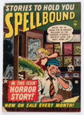 Golden Age (1938-1955):Horror, Spellbound #2 (Atlas, 1952) Condition: FR....
